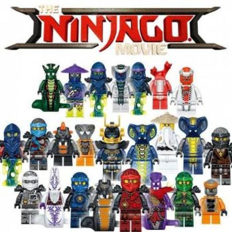 Lego NINJAGO zestaw 24 figurek klocki kompatybilne.