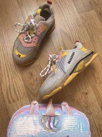 Детские кроссовки Balenciaga