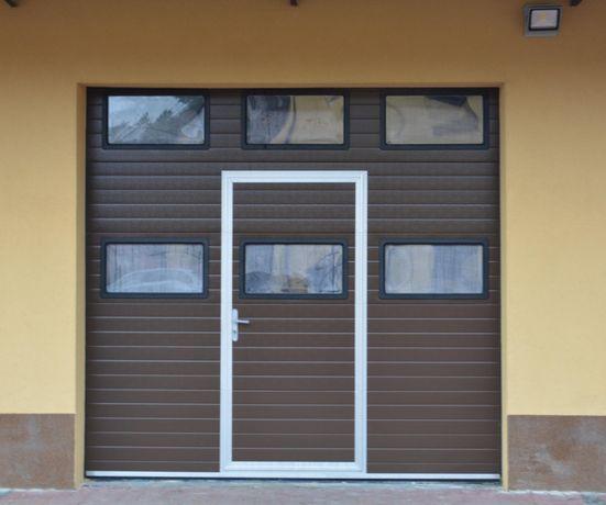 PRODUCENT brama segmentowa garażowa przemysłowa bramy garażowe KIELCE
