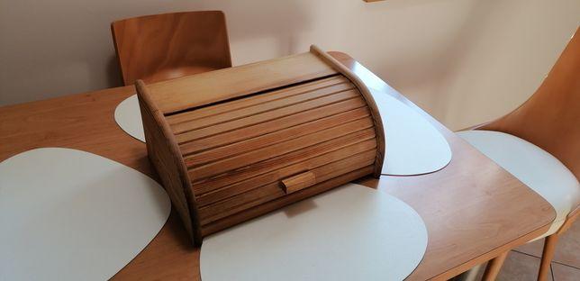Chlebak drewniany na pieczywo