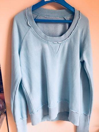 Bluza edc by ESPRIT-jasny turkusowy błękit S