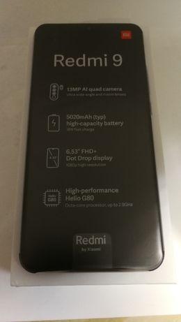 Telefon smartfon Xiaomi Redmi 9 4/64 gb Nowy Gwarancja 2 lata Sklep