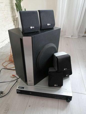 kino domowe LG HT362ST 5.1 DVD,radio, 5 głośników,subwoofer