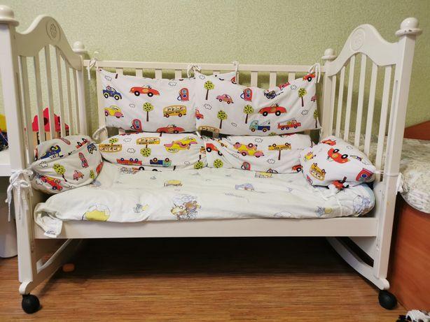 """Продам детскую кроватку """"ВЕСЕЛКА"""""""