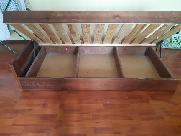 Łóżko młodzieżowe 180 cm