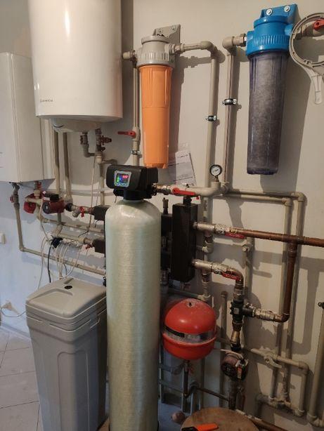 Фильтр для обезжелезивания и умягчения воды 1252 RX микс от железа