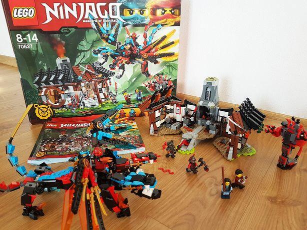 Duży Zestaw LEGO Ninjago 70627 Kuźnia Smoka, komplet