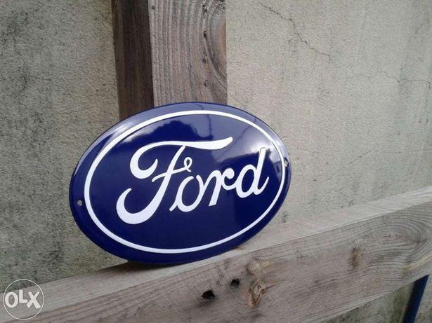 Placa esmaltada Ford