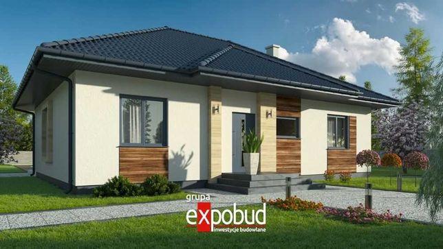 Trwały i ciepły dom w 2 miesiące na działce klienta, projekt MP1
