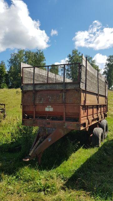 Rozrzutnik 8 ton Rosyjski tandem zamienie za pług 4 skibowy