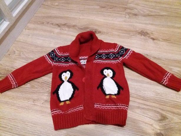 sweter świąteczny 1,5-2 lata