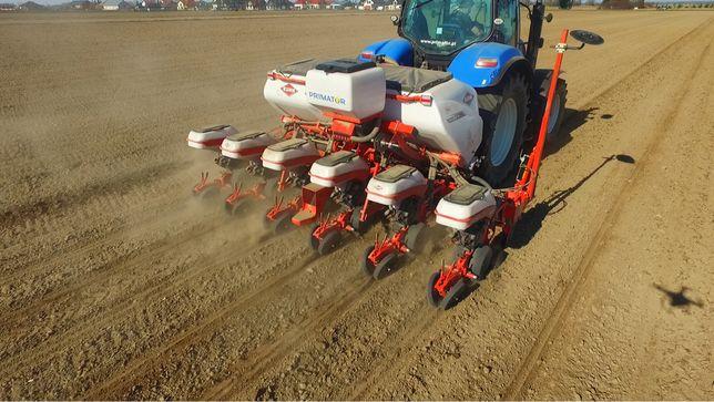 Siew kukurudzy (Agro-Konkret usługi rolnicze )