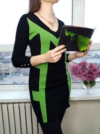 Классное теплое платье 300грн S