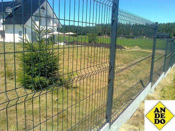 Panele ogrodzeniowe + montaż PRODUKT POLSKI