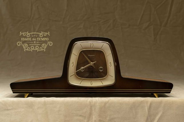 Relógio alemão de mesa, estilo Art Deco - Dugena