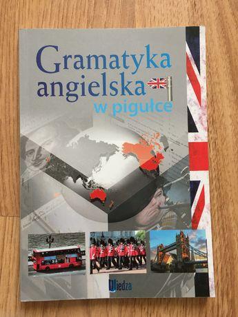 Książka gramatyka angielska w pigułce język angielski podręcznik