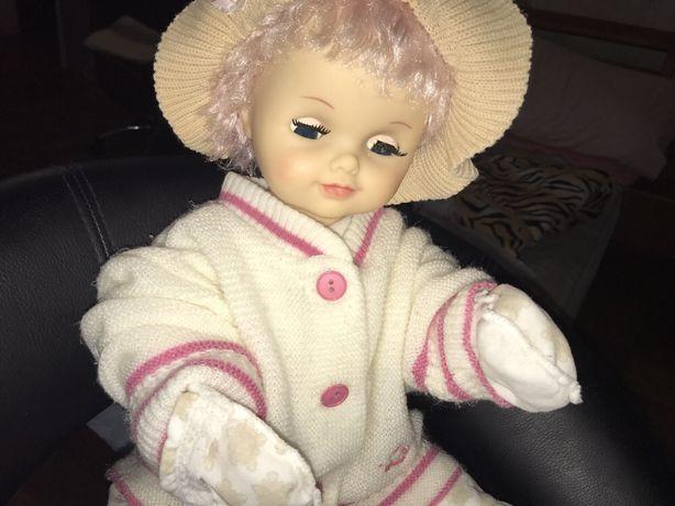 Кукла с розовыми волосами 90 года