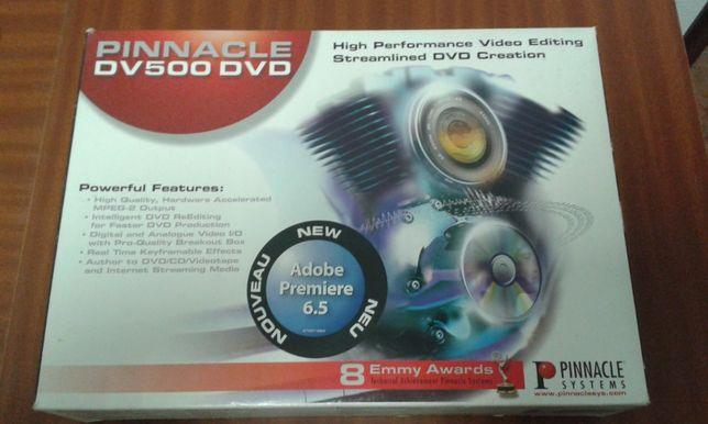 edição de video Pinnacle DV500DVD – DC1000 Matrox RT2000 + Oferta