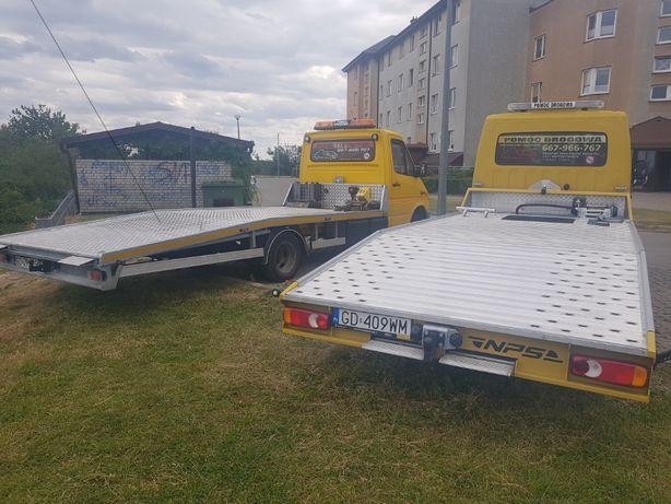 Pomoc Drogowa, Transport, Laweta Tczew Gdańsk Pruszcz  A1 S6 s7