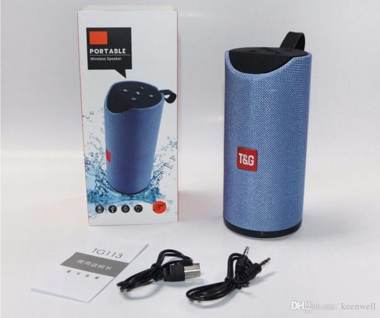 Портативная Bluetooth колонка Portable Wireless Speaker TG 113