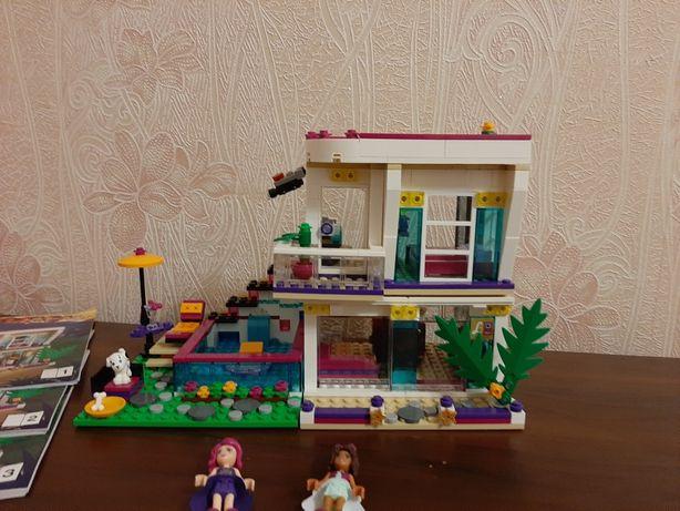 Lego Friends 41135. Дом поп-звезды Ливи. Оригинал.