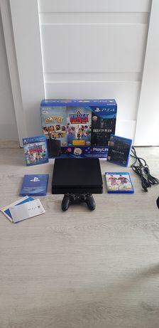Konsola PlayStation 4 500 gb Slim Nowa, 3 gry zestaw gracza! (PS4)