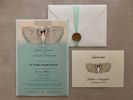 Zaproszenia ślubne/ zaproszenia na ślub/ promocja