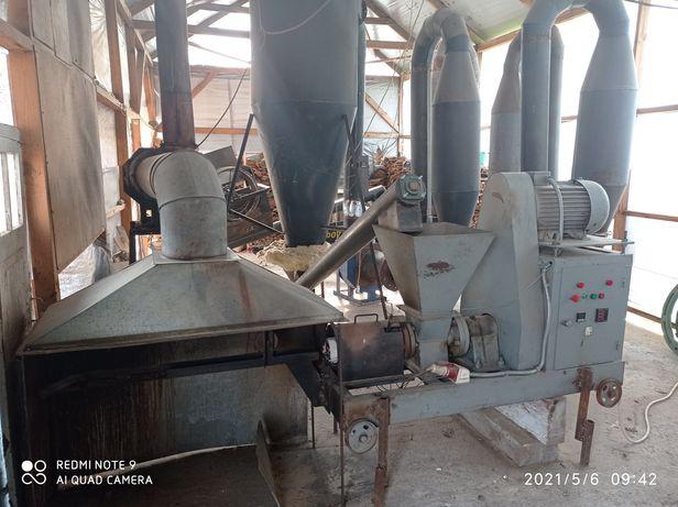 Лінія для виробництва брикетів піні кей