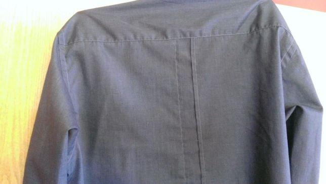 Koszula meska wizytowa na spinki rozmiar s nowa