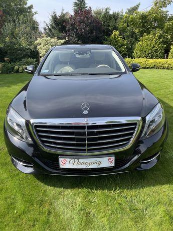 Ślub Mercedes S W222 Long reprezentacyjny