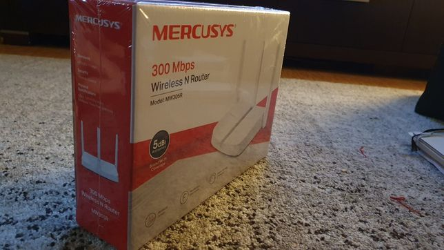 NOWY ROUTER Mercusys mw 305r.