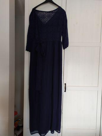 Sukienka ciążowa XL długa na wesele