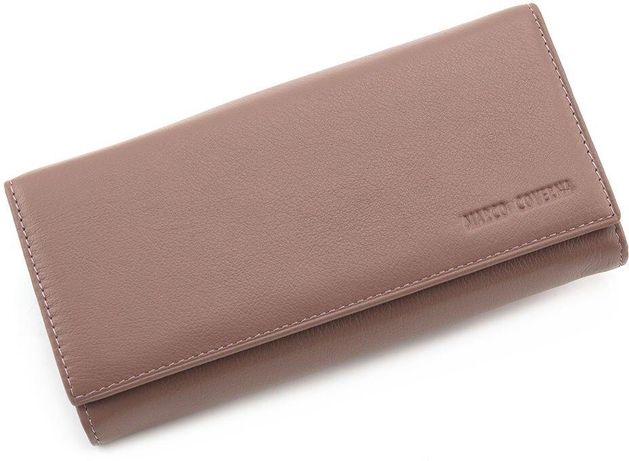 Женский Кожаный кошелек с фиксацией на магнитах Marco Coverna.