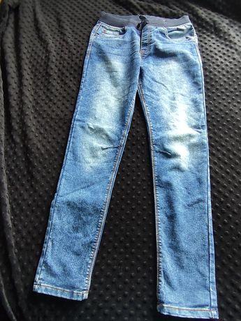 Chłopięce spodnie jeansowe DESTINATION 158cm