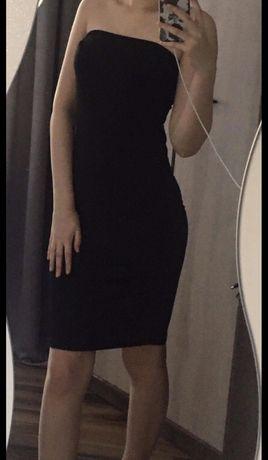 Czarna obcisla sukienka