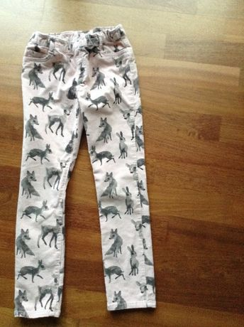Spodnie H&M r.128 ,7-8 lat