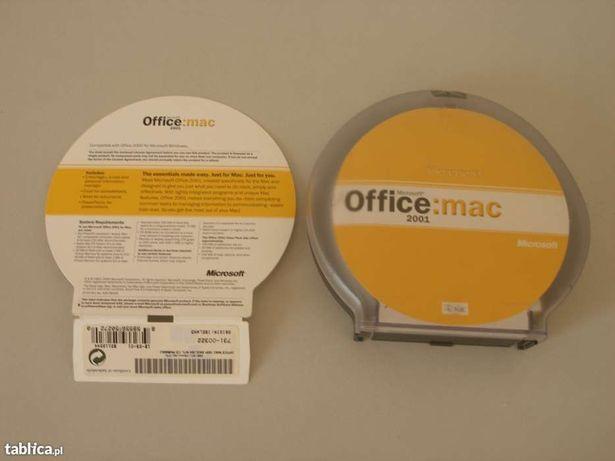 Apple: Mac OS 7.5.3, Mac OS 9, Mac OS X, Mac Office 2001