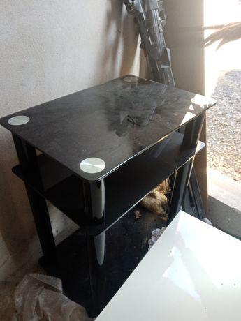 Stolik pod telewizor, czarny, super stan