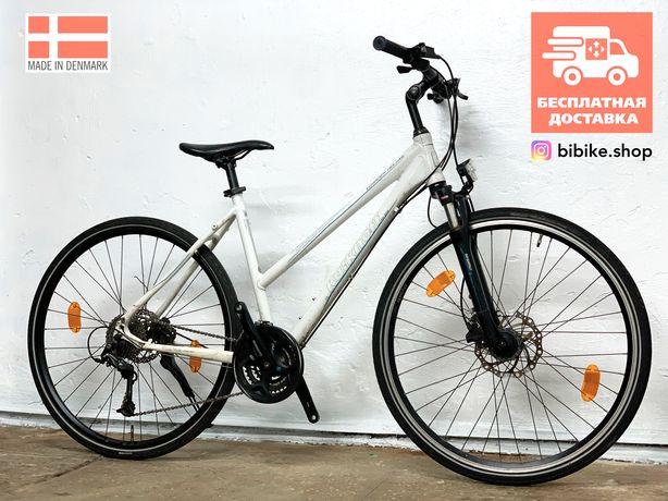 Дорожный велосипед из Германии Deore Гибридный Женский Городской