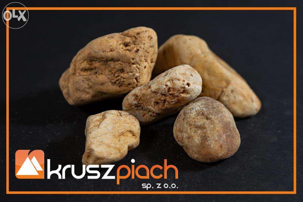 Żwir Kwarcowy Brązowy od 32mm (nadziarno) Kora Granit Piasek Kamień Dąbrowa Górnicza - image 1