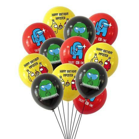 Воздушные шарики Among Us