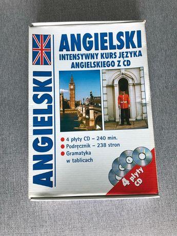 Angielski: Intensywny kurs języka angielskiego z CD