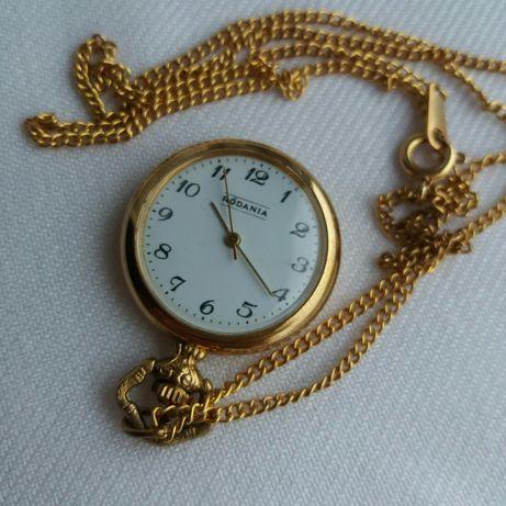 Szwajcarski zegarek RODANIA na szyję na łańcuszku