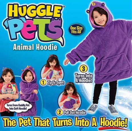 Huggle pets мягкая игрушка кингурушка толстовка подушка Худи Оригинал