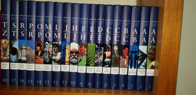 Enciclopédia Moderna Larousse (18 volumes)