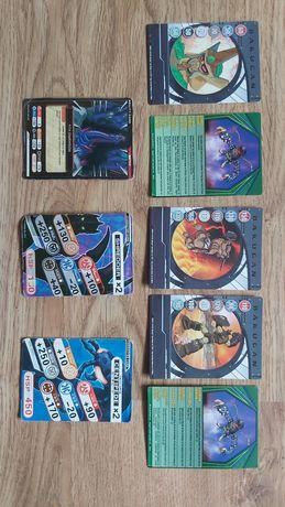 Karty Bakugan w stanie idealnym