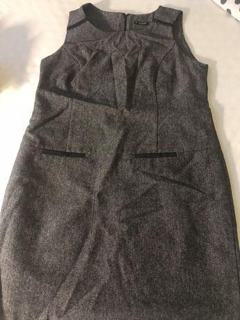 Sukienka bezrękawnik 44