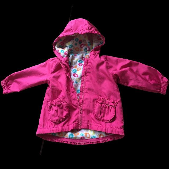 Рожева Вітровка для дівчинки