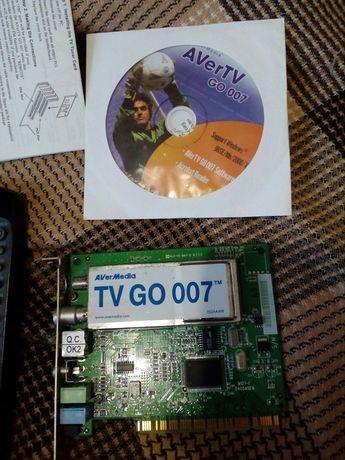 Продам TV-тюнер averMedia tv go 007