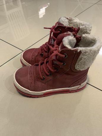 Skórzane trapery Lasocki 24 zimowe buty